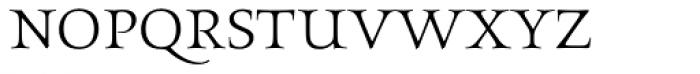 Aeneas Light Font LOWERCASE