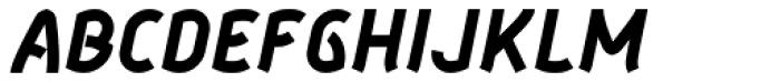 Aeolus Pro Bold Italic Font UPPERCASE