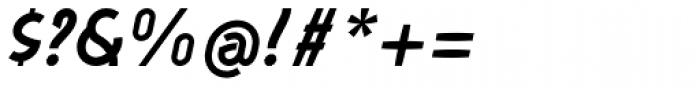 Aeolus Pro Semi Bold Italic Font OTHER CHARS