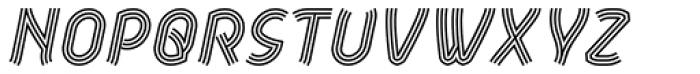 Aeolus Pro Tribe Italic Font UPPERCASE