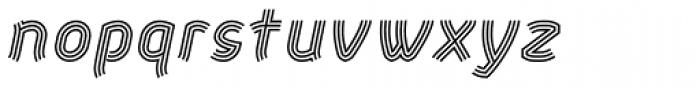 Aeolus Pro Tribe Italic Font LOWERCASE