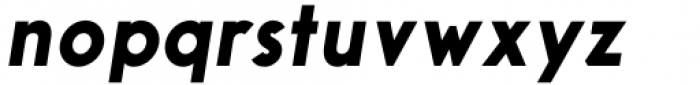 Aeonian Black Italic Font LOWERCASE