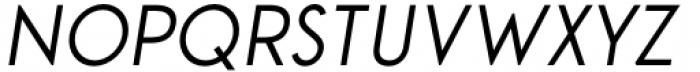 Aeonian Italic Font UPPERCASE