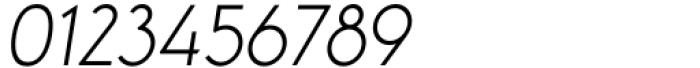 Aeonian Light Italic Font OTHER CHARS