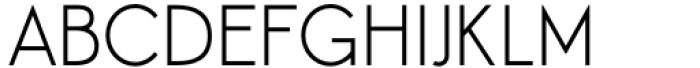 Aeonian Light Font UPPERCASE