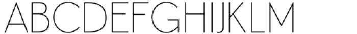 Aeonian Thin Font UPPERCASE