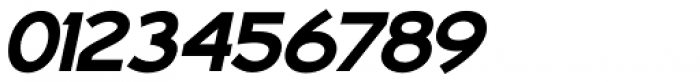 Aerohop Black Italic Font OTHER CHARS