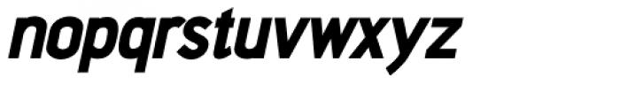 Aerohop Black Italic Font LOWERCASE