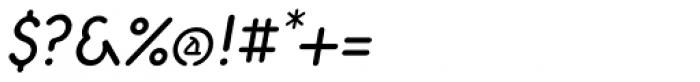 Aerolite Pro Italic Font OTHER CHARS