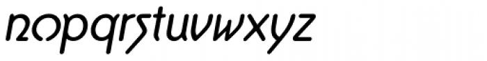 Aerolite Pro Italic Font LOWERCASE