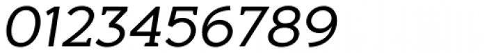 Aeron Book Oblique Font OTHER CHARS
