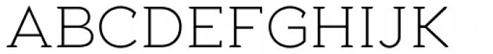 Aeron Light Font UPPERCASE
