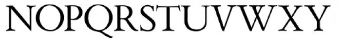 Aetna JY Newstyle Roman Font UPPERCASE