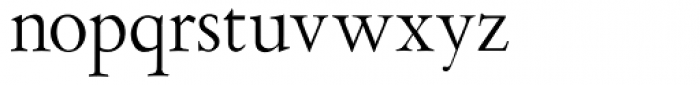 Aetna JY Newstyle Roman Font LOWERCASE