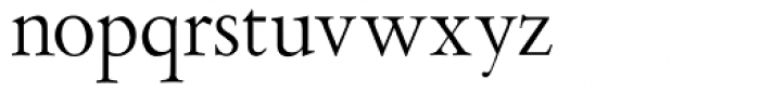 Aetna JY Roman Font LOWERCASE