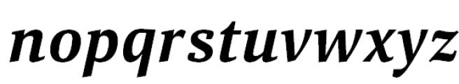 Aelita Bold Italic Font LOWERCASE