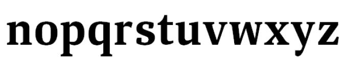 Aelita Bold Font LOWERCASE