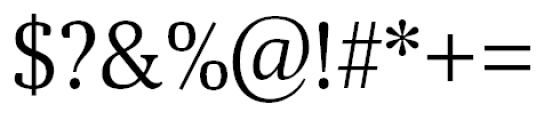 Aelita Book Font OTHER CHARS