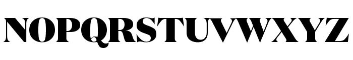 DomaineDisplay Black Font UPPERCASE