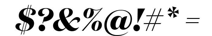 DomaineDisplay BoldItalic Font OTHER CHARS