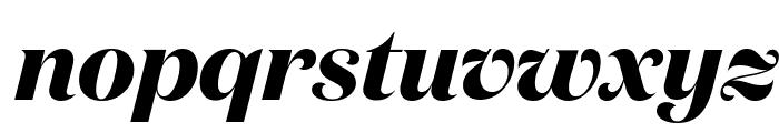 DomaineDisplay BoldItalic Font LOWERCASE