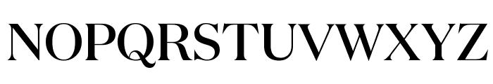 DomaineDisplay Medium Font UPPERCASE