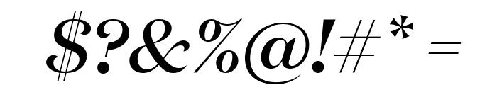 DomaineDisplay MediumItalic Font OTHER CHARS