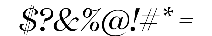 DomaineDisplay RegularItalic Font OTHER CHARS