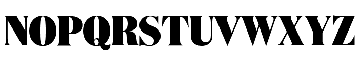 DomaineDisplayCondensed Black Font UPPERCASE