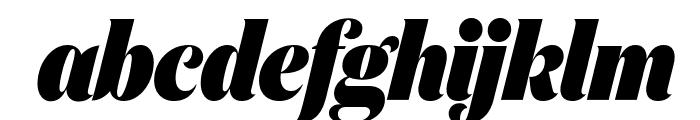 DomaineDisplayCondensed BlackItalic Font LOWERCASE