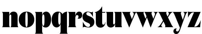DomaineDisplayCondensed Black Font LOWERCASE