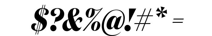 DomaineDisplayCondensed BoldItalic Font OTHER CHARS