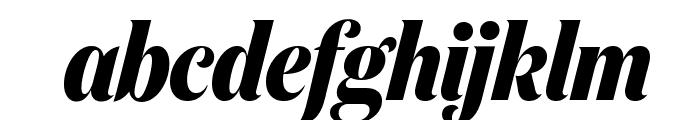 DomaineDisplayCondensed BoldItalic Font LOWERCASE