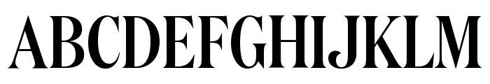 DomaineDisplayCondensed Medium Font UPPERCASE