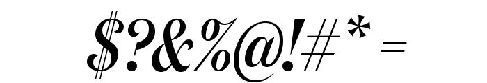 DomaineDisplayCondensed MediumItalic Font OTHER CHARS