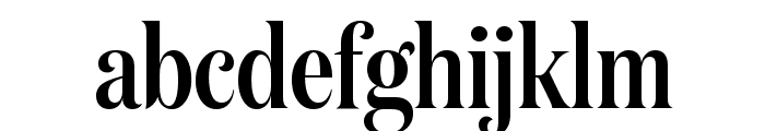 DomaineDisplayCondensed Medium Font LOWERCASE
