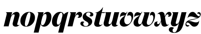 DomaineDisplayNarrow BoldItalic Font LOWERCASE