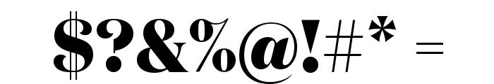 DomaineDisplayNarrow Extrabold Font OTHER CHARS