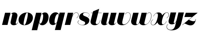 DomaineSansDisplay BlackItalic Font LOWERCASE