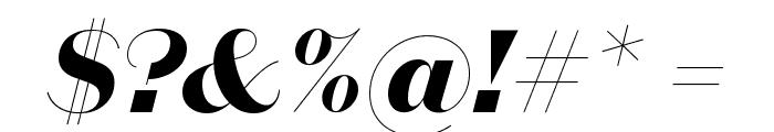 DomaineSansDisplay BoldItalic Font OTHER CHARS