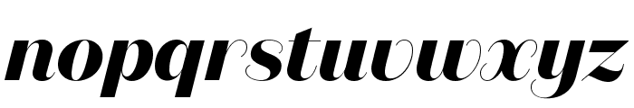 DomaineSansDisplay BoldItalic Font LOWERCASE
