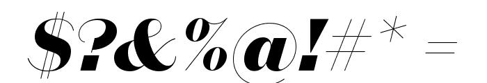 DomaineSansDisplay ExtraboldItalic Font OTHER CHARS