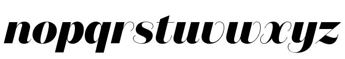 DomaineSansDisplay ExtraboldItalic Font LOWERCASE