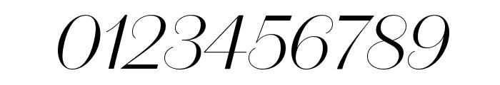 DomaineSansDisplay LightItalic Font OTHER CHARS