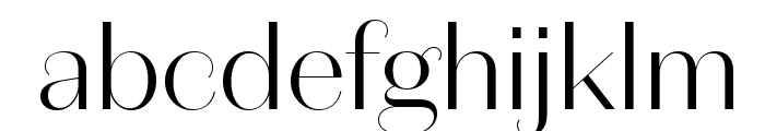 DomaineSansDisplay Light Font LOWERCASE