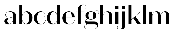 DomaineSansDisplay Medium Font LOWERCASE