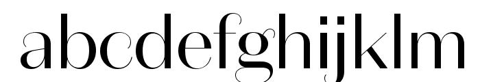 DomaineSansDisplay Regular Font LOWERCASE