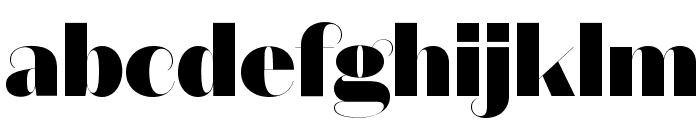 DomaineSansFine Black Font LOWERCASE