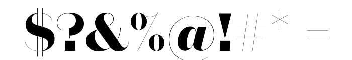 DomaineSansFine Bold Font OTHER CHARS