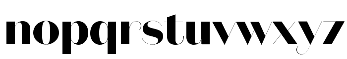 DomaineSansFine Bold Font LOWERCASE